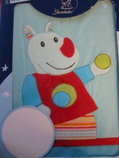 """Kinder Bettwäsche """" Nelson"""" 100x135 + 40x60 cm von Sterntaler mit wunderschönen Applikationen"""