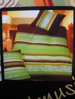 Biber Bettwäsche 155x220 + 80x80cm von Kaeppel Einzelstück