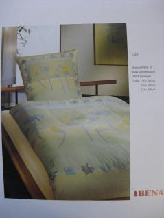 Bettwäsche 155x220 cm Mako Satin von Ibena Einzelstück Einzelstück 195/peach - Vorschau 2