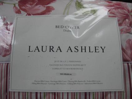Tagesdecke Lakerton Cranberry von Laura Ashley 240x265 cm für ein Doppelbett - Vorschau 3