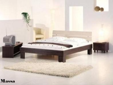 Bettrahmen, Massivholz 90x200 Wood-Line inkl. Cantu-Fuß-Set von Hasena Ausstellungsstück