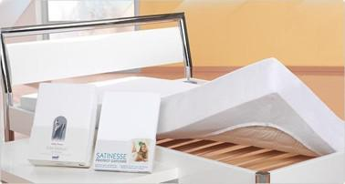 Matratzen Schonbezug mit Polymermembran von Formesse Satinesse Protect 50% Baumwolle 50% Polyester