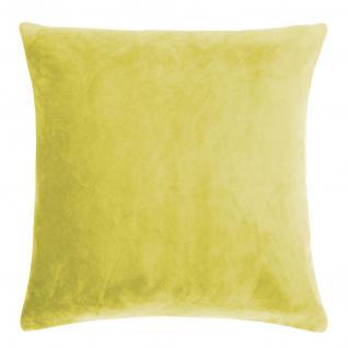 Kissenhülle Uni 40x40 cm in der Farbe mustard von pad