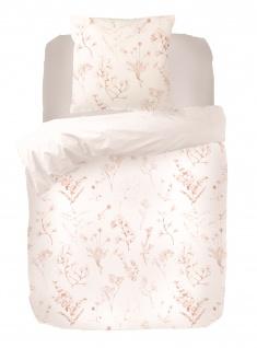Bettwäsche Emi 155x220 100% Tencel Garnitur von Kayori mit Reißverschluss