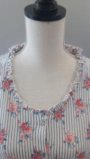 Damen Nachthemd Baumwolle von Clayre & Eef Kurzarm - Vorschau 2