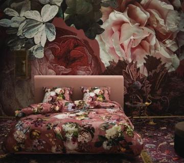 Bettwäsche 155x220+80x80 cm von Essenza Fleur Dusty Rosé