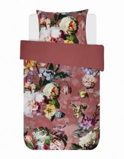 Bettwäsche 155x220+80x80 cm von Essenza Fleur Dusty Rosé - Vorschau 5