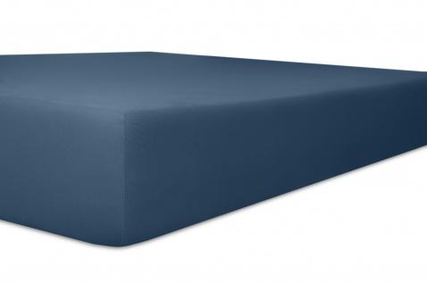 Spannbetttuch 90x190x22 bis 100x200x22 cm Nicky-Velours hellblau - Vorschau 3