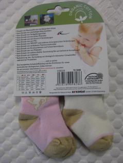 Baby-Socken Bio-Cotton Doppelpack 86-92 - Vorschau 3