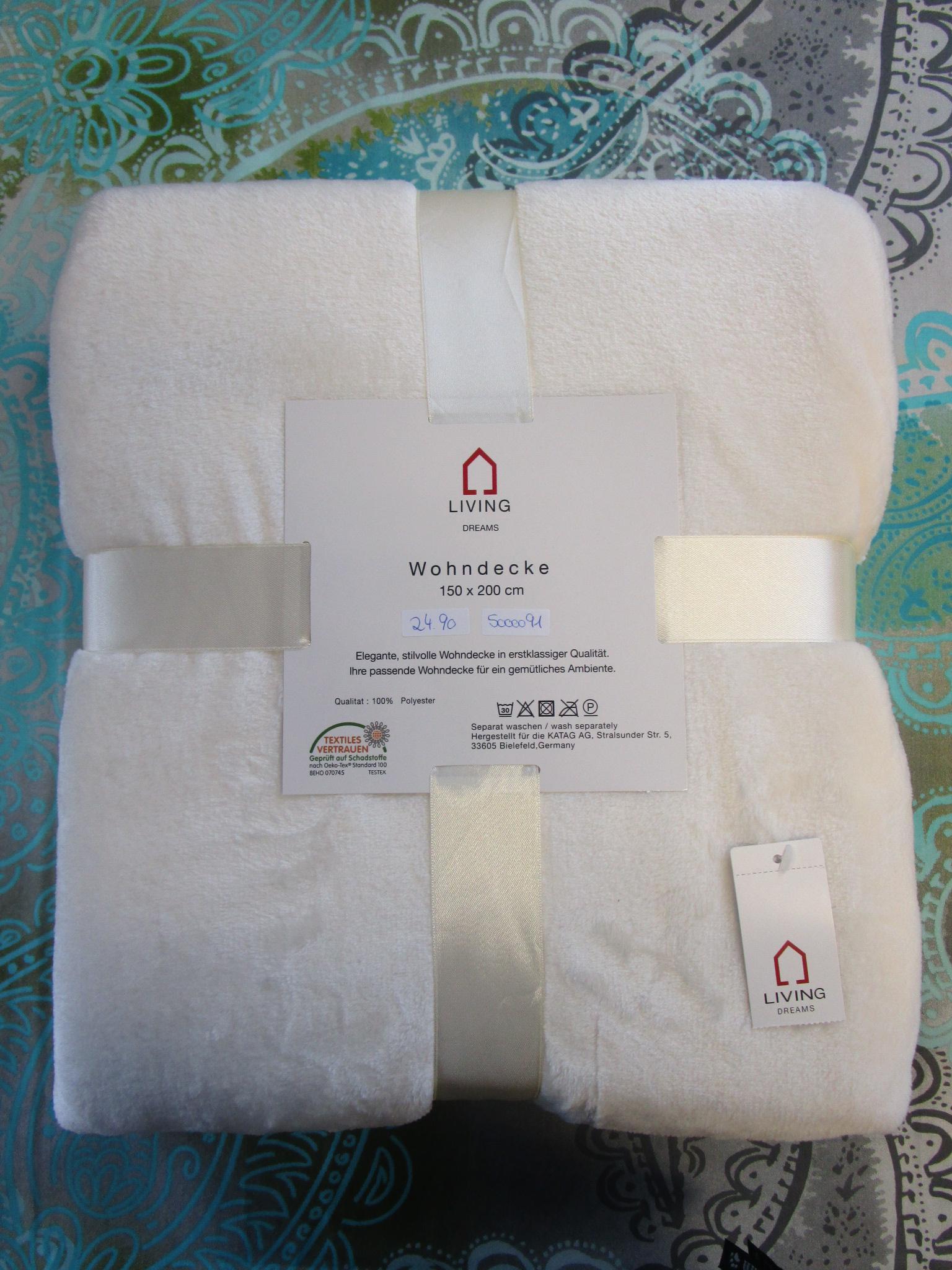kuscheldecke 150x200 in der farbe creme off white kaufen bei betten krebs gelnhausen. Black Bedroom Furniture Sets. Home Design Ideas