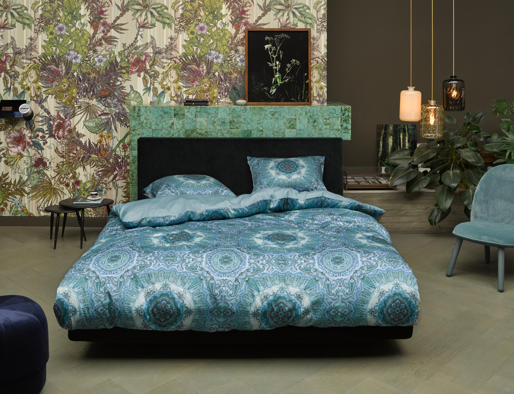 Bettwäsche 155x22080x80 Cm Von Essenza Cadiz Farbe Blue Kaufen