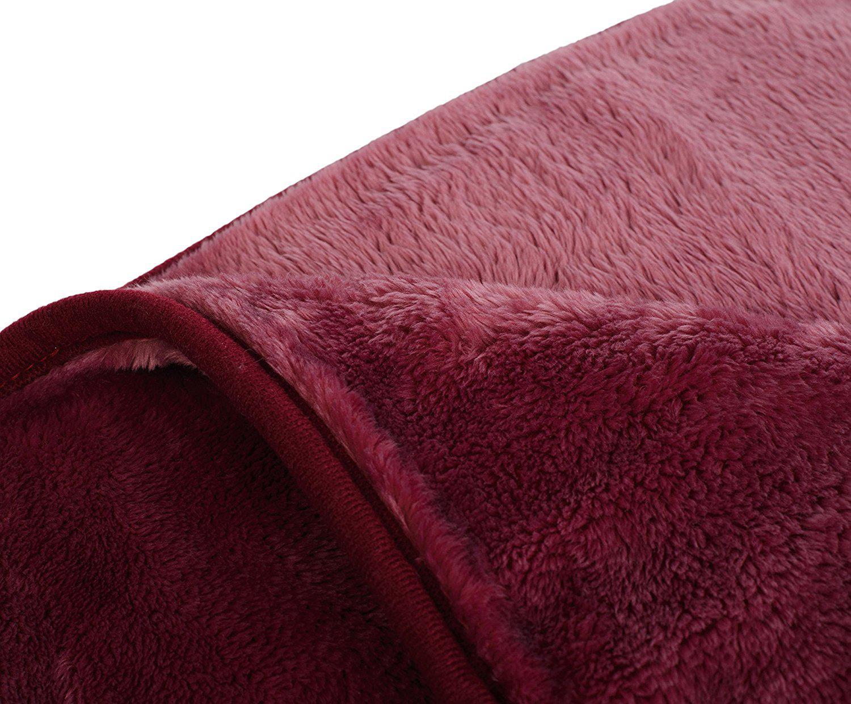 Kuscheldecke Premium Cashmere Feeling 130 X 170 Beere Von Gozze