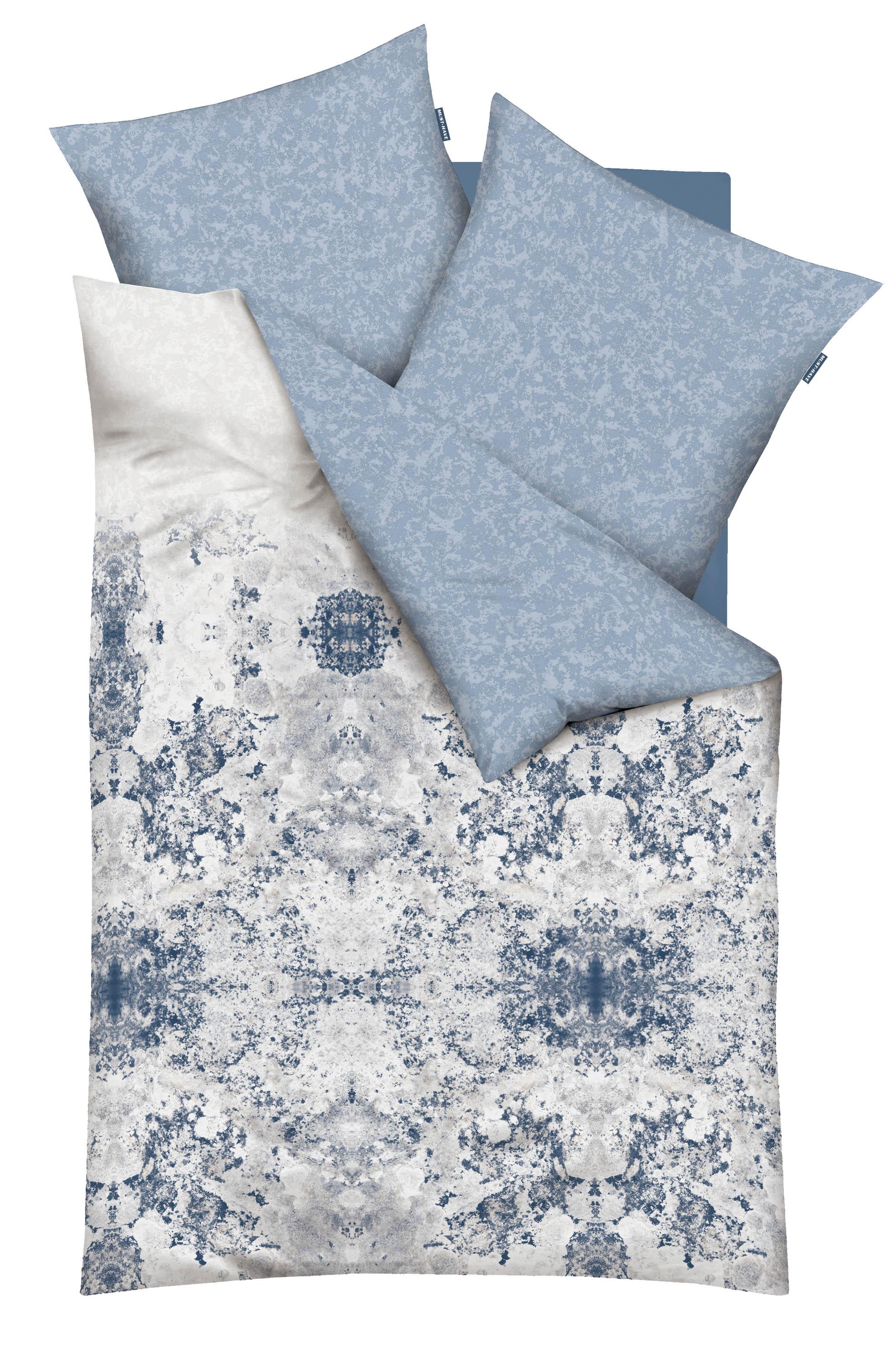 bettw sche 135x200 cm must have 790 631 hellblau mako satin von kaeppel kaufen bei betten. Black Bedroom Furniture Sets. Home Design Ideas