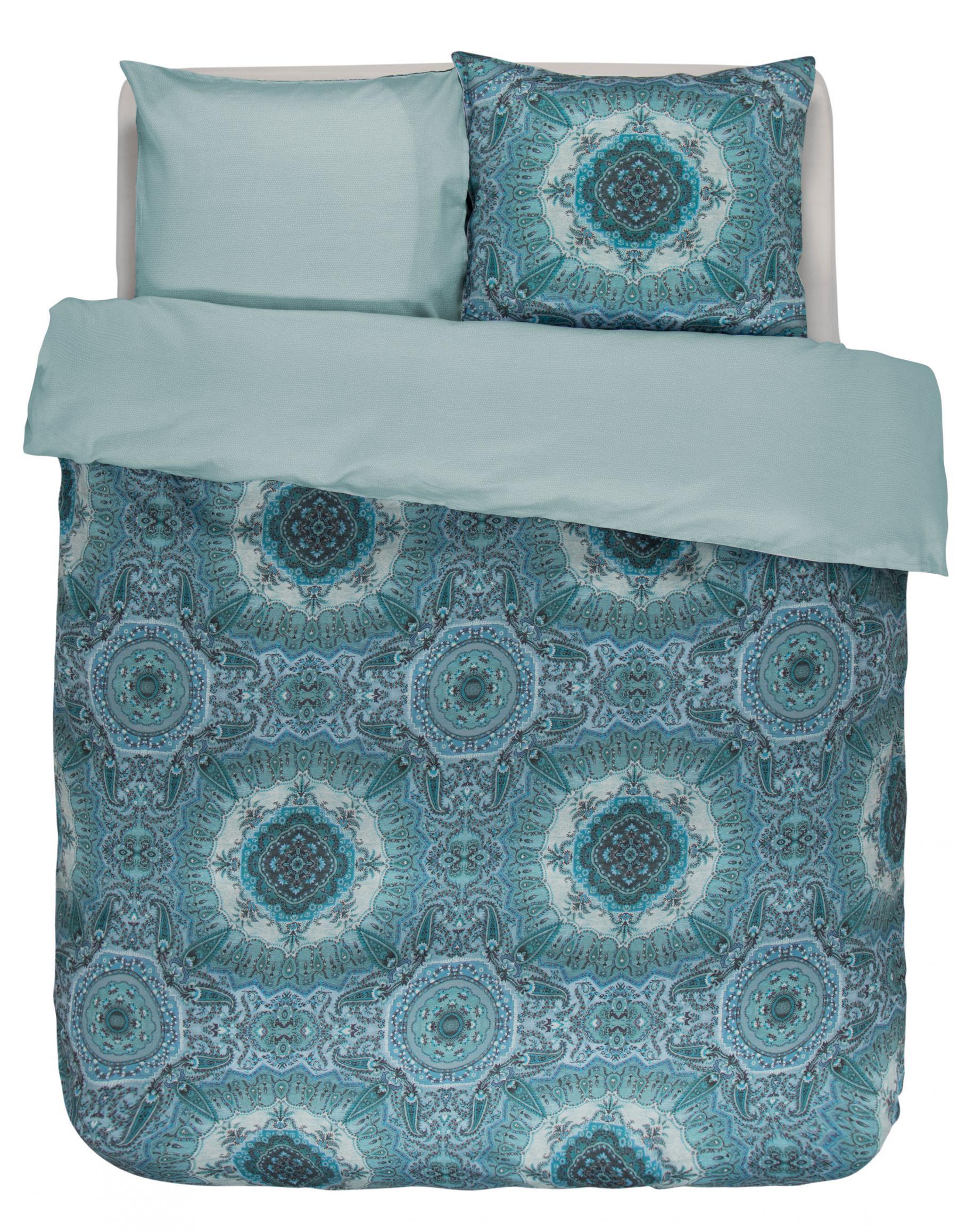 bettw sche 155x220 80x80 cm von essenza cadiz farbe blue kaufen bei betten krebs gelnhausen. Black Bedroom Furniture Sets. Home Design Ideas