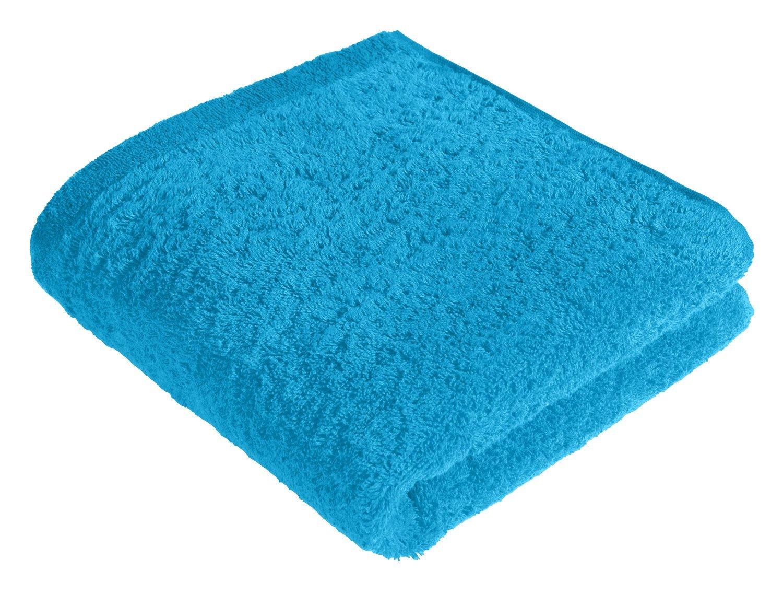 Cawö Handtuch Blau Life Style Uni 7007 50x100 Cm Kaufen Bei