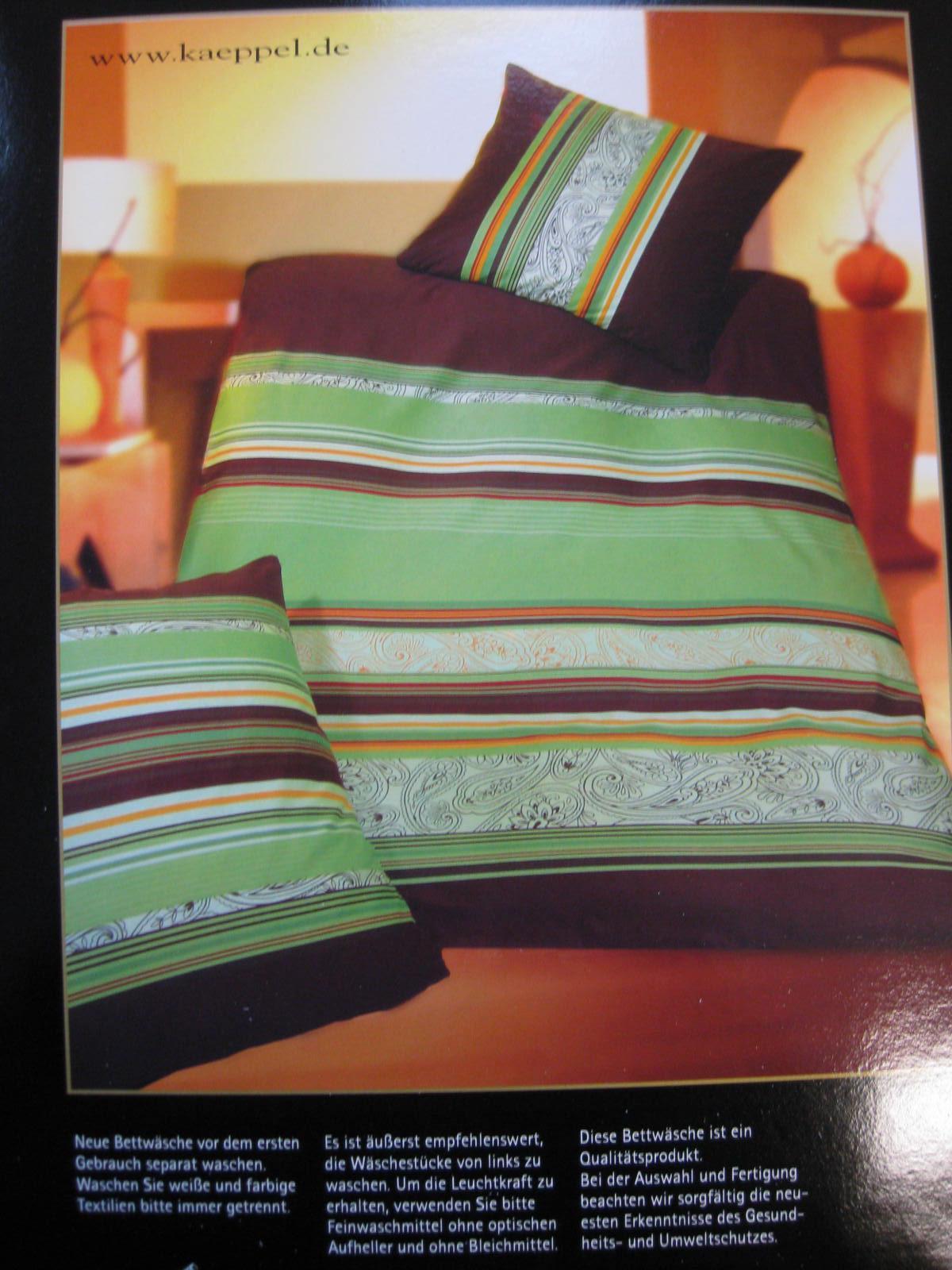 biber bettw sche 155x220 80x80cm von kaeppel einzelst ck. Black Bedroom Furniture Sets. Home Design Ideas