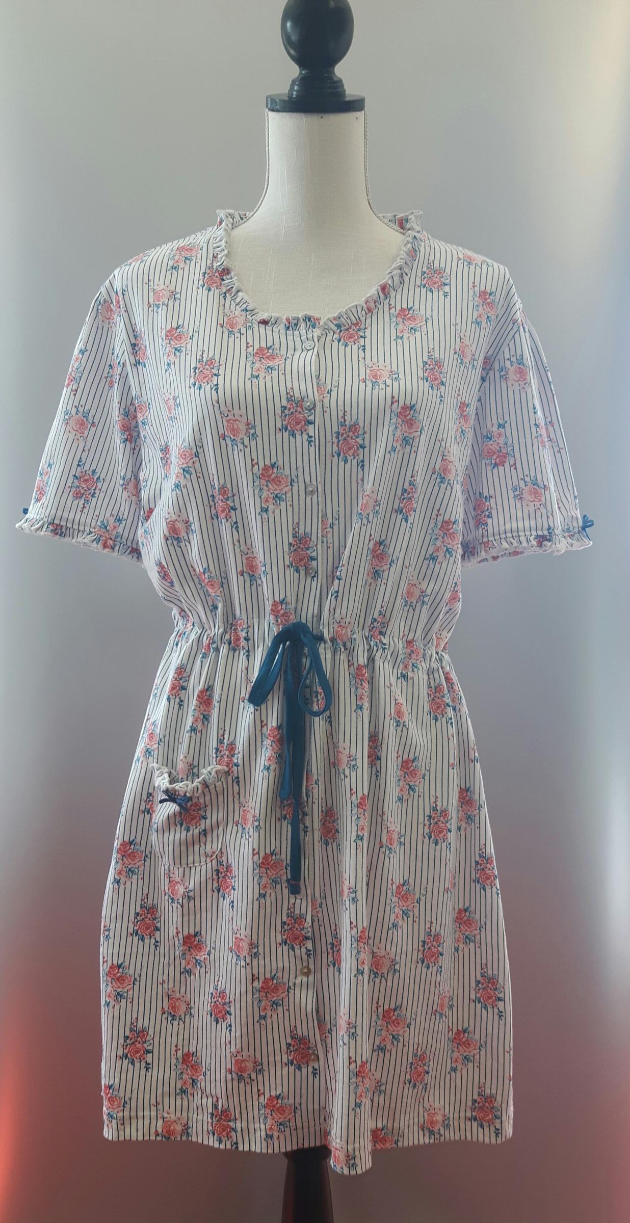 online store b2896 ee5d3 Damen Nachthemd Baumwolle von Clayre & Eef Kurzarm