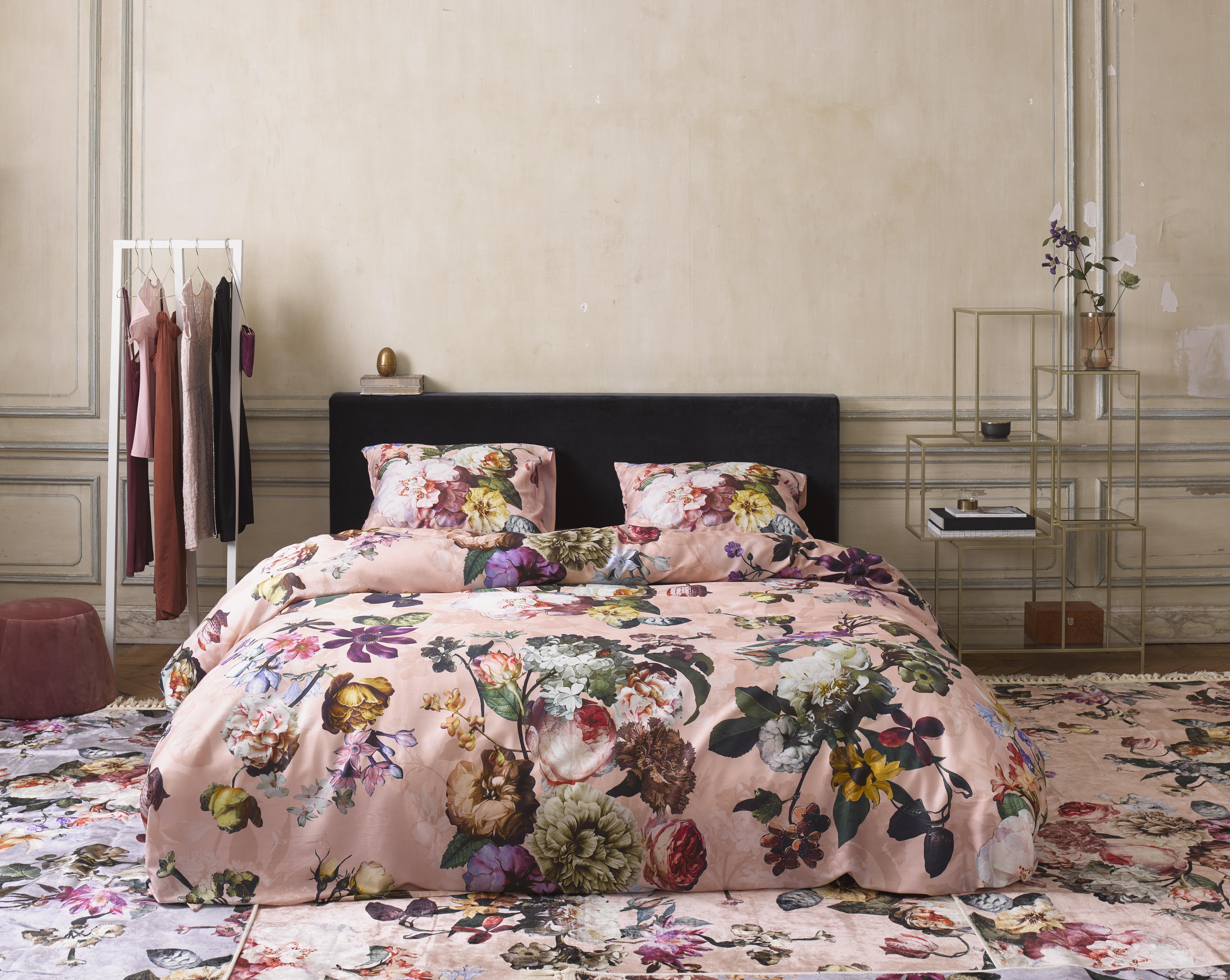 Bettwäsche 135x20080x80 Cm Von Essenza Fleur Duvet Cover Rose