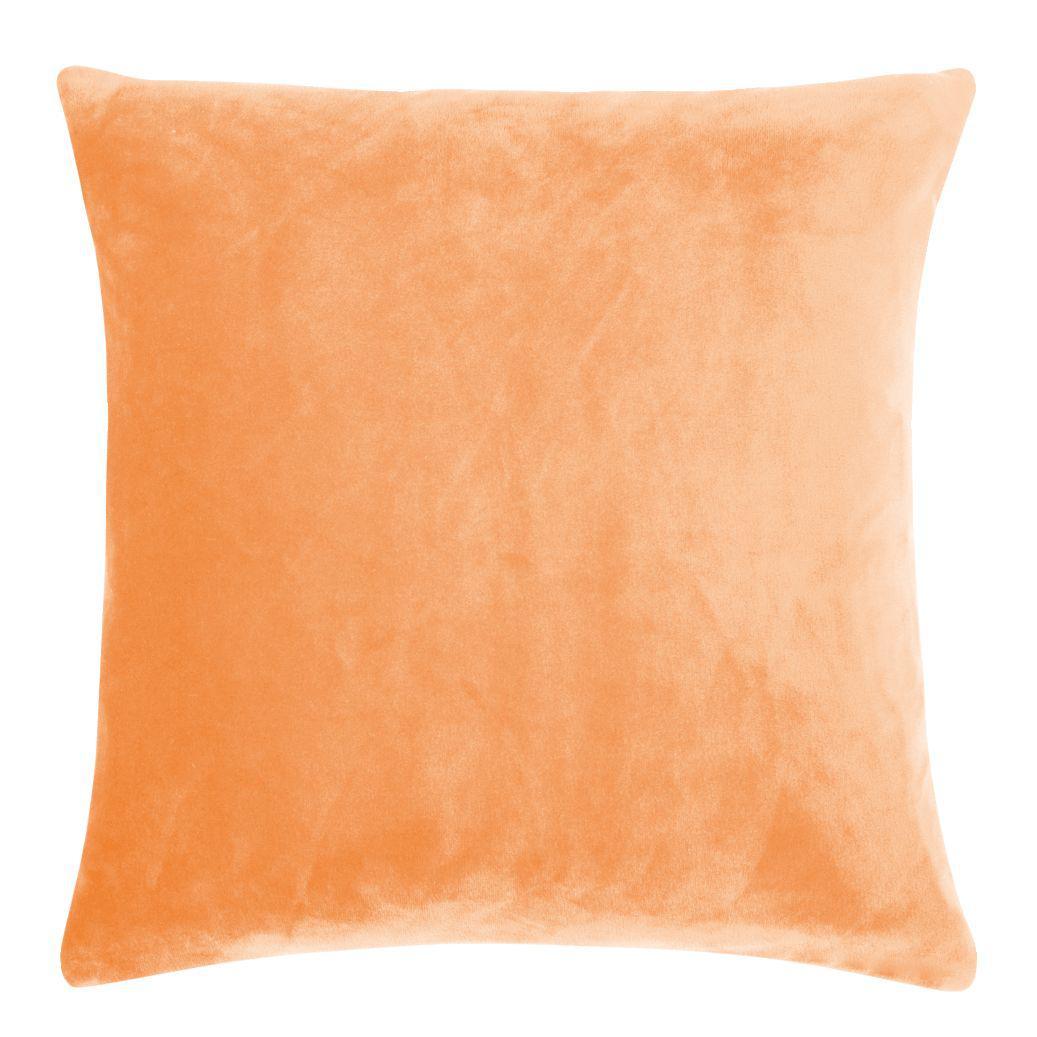 Kissenhülle Uni 50x50 Cm In Der Farbe Orange Von Living Dreams