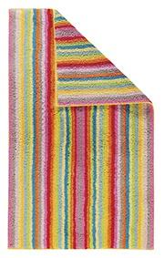 Handtuch von der Marke Cawö in der Farbe Multicolor mit Streifen 100x50 cm 100% Baumwolle Frottier