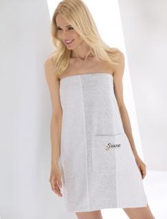 Saunakilt für Damen und Herren von der Marke Cawö in Gr. XS-XL Unisex, 100% Baumwolle Frottier