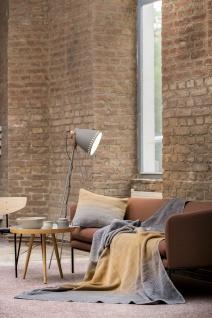 Wohn und Kuscheldecke Savona Farbverlauf goldgelb 150x200 von David Fussenegger