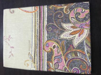 Bettwäsche Bassetti 155x220 cm Misty V7 Mako-Satin Garnitur Einzelstück