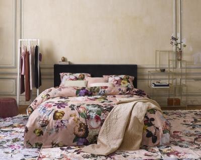 Bettwäsche 135x200+80x80 cm von Essenza Fleur Duvet Cover Rose