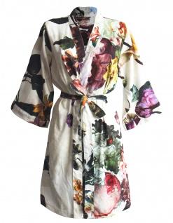 Damen Kimono Fleur von Essenza, Größe M Ecru
