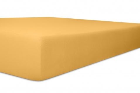 Spannbetttuch 140x200x22 bis 160x200x22 cm Nicky-Velours sand