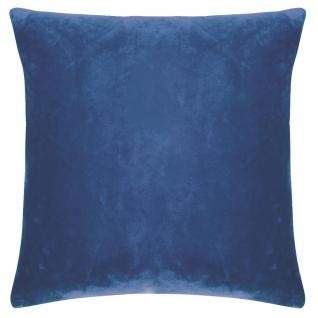 Kissenhülle Uni 40x40 cm in der Farbe blue von pad