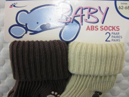 ABS-Baby-Socken im Doppelpack versch. Größen - Vorschau 3
