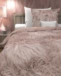 Wendebettwäsche Tress Blush Rose Renforcé 135x200 + 80x80 cm von Heckett & Lane