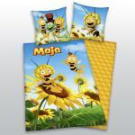 """3D Bettwäsche 135x200 + 80x80 cm """" Biene Maja"""" von Herding"""
