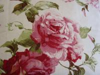 Tischdecke Rosendekor Mitteldecke 85x85 cm Rico Design