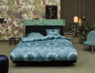 Bettwäsche 155x220+80x80 cm von Essenza Cadiz Farbe Blue