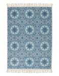 Teppich Cadiz Blue von Essenza in der Größe 120x180cm 100% Polyester