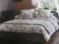 Bettwäsche Laura Ashley Lakterton V8 Mako-Satin Garnitur Amethyst