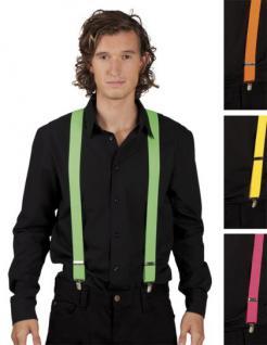 Hosenträger Neon neonfarben Hosenträger