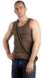 Patronengurt Patronengürtel Kunststoff ca. 160 cm Gurt Patrone Revolvergurt Pistolengurt Army Munitionsgürtel Gürtel Munition