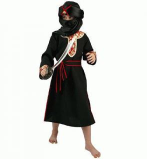 Kostüm Scheich Scheikostüm Kinderkostüm Scheich Kostüm Herr der Wüste für Kinder Scheich Tuareg Beduine - Vorschau