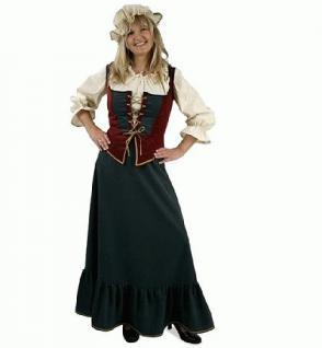 Kostüm Marktfrau Mittelalter Magd Hofdame Königin
