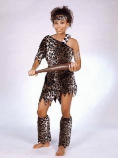 Leopardenkleid Kostüm Leopard Leopradenkostüm Kleid