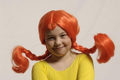 Perücke Rotschopf für Kinder Perücke Kinder Kinderperücke