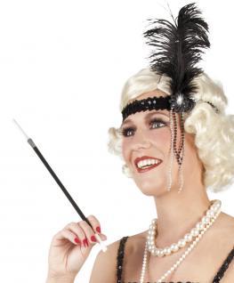 Zigarettenspitze im Stil der 20er Jahre Zigarettenhalter Kostüm Charleston 20er Jahre Karneval Theater Fasching - Vorschau