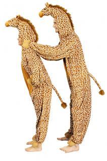 Giraffenkostüm Kostüm Giraffe Giraffenkostüm Kinder und Erwachsene Overall Giraffe Giraffenoverall - Vorschau 1