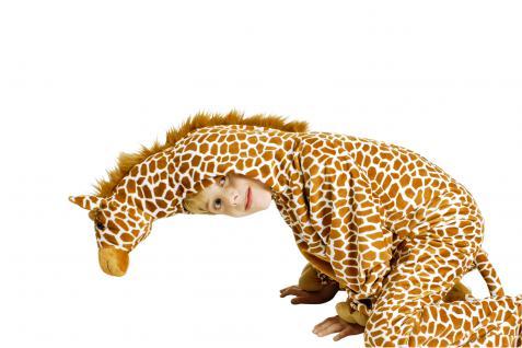 Giraffenkostüm Kostüm Giraffe Giraffenkostüm Kinder und Erwachsene Overall Giraffe Giraffenoverall - Vorschau 3
