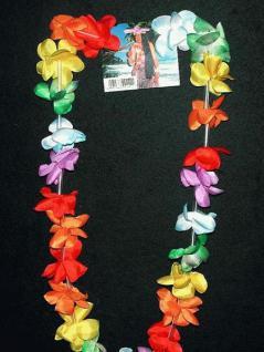 50 x Hawaiikette Kette Hawaii Blütenkette Kette Blumen Blumenkette - Vorschau