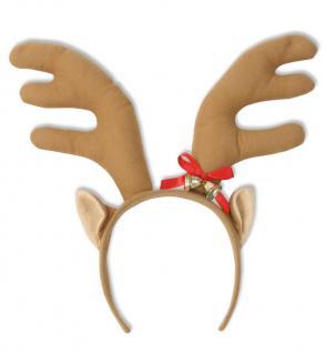 Edel - Elch - Geweih Weihnachten Elchgeweih Fasnet Kostüm Elch Elchkostüm - Vorschau