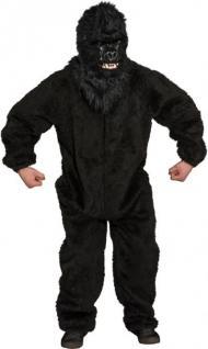 Plüschoverall Plüsch Kostüm Gorilla Affe Affenkostüm Plüschkostüm